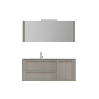 Мебель для ванной Am.Pm Awe M15FHL1253GH королевский серый 125 см