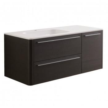 Мебель для ванной Am.Pm Awe M15FHL1253VF венге фактурная 125 см