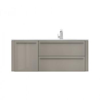 Мебель для ванной Am.Pm Awe M15FHR1253GH королевский серый 125 см