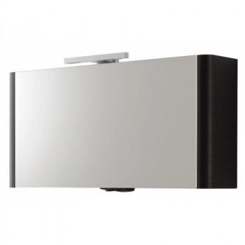 Зеркальный шкаф Am.Pm Awe M15MCX1151VF венге фактурный 115 см