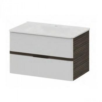 Мебель для ванной Am.Pm Bliss D M55FHX0602VF белый/венге фактурный 60 см
