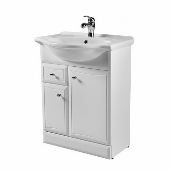 Мебель для ванной Am.Pm Bourgeois M6-FSX0653-WC065 белый, глянец 65 см