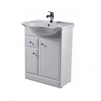 Мебель для ванной Am.Pm Bourgeois M65FSX0653WG белый, глянец 65 см