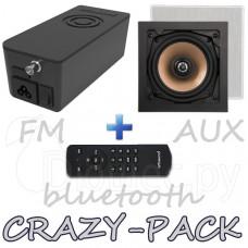 Комплект радио Artsound CRAZY-PACK Hyde и динамики HPSQ525