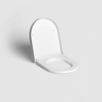 Крышка-сиденье Clou Hammock CL/04.06040.20 микролифт (43.3х36.8) белая матовая
