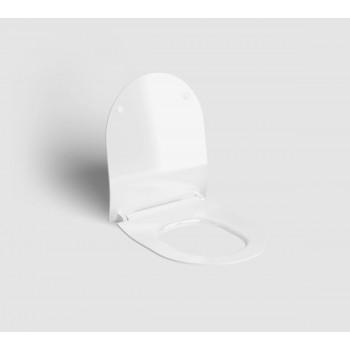 Крышка-сиденье Clou Hammock CL/04.06060.21 микролифт (43.5х36.3) чёрная матовая