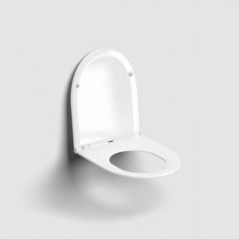 Крышка-сиденье Clou InBe IB/04.06050 микролифт (44х36.5) белая