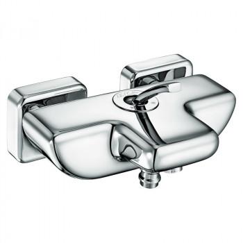 Смеситель для ванны E.C.A. Novita 102102447 хром
