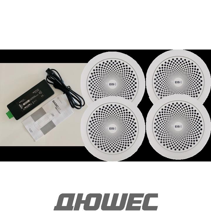 Встраиваемая аудиосистема KBSOUND Basic BT с 4 динамиками