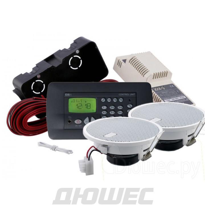 Радио для ванной комнаты Eissound KBSOUND Premium Black Edition черный