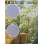 Радио для ванной комнаты Eissound KBSOUND iSelect 5 50304 белый