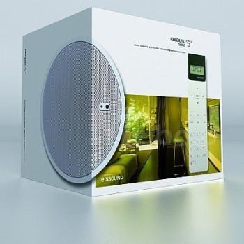 Радио для ванной комнаты Eissound KBSOUND iSelect 5 белый