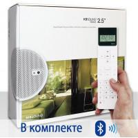 Радио для ванной комнаты Eissound KBSOUND iSelect 2.5 c Bluetooth белый
