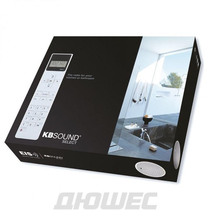Встраиваемое радио для ванной Eissound KBSOUND Select с хромированными динамиками