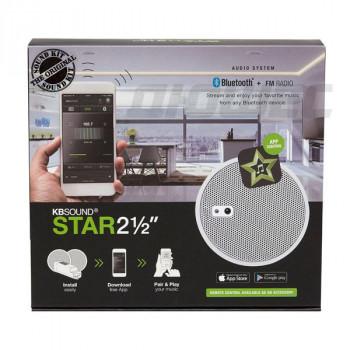 Радио для ванной комнаты Eissound KBSOUND STAR 2,5 50804