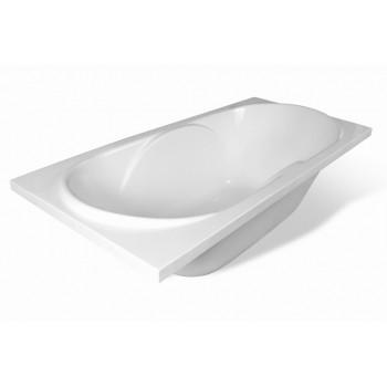 Ванна прямоугольная из литьевого мрамора Эстет Астра (170х80)