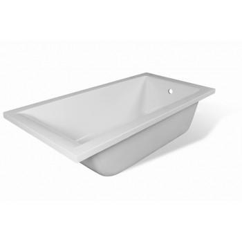 Ванна прямоугольная из литьевого мрамора Дельта (180х80)