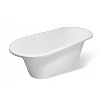 Ванна отдельностоящая из литьевого мрамора Лион (174х80)