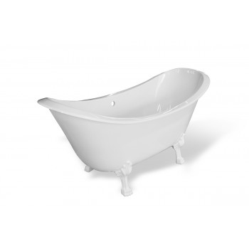 Ванна отдельностоящая из литьевого мрамора Скарлетт (180х77)