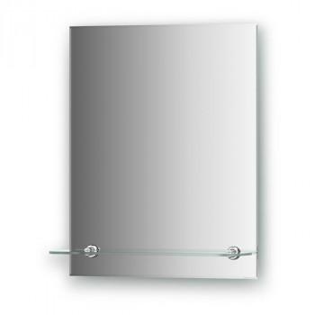 Зеркало Evoform Attractive BY 0501 с фацетом и полочкой 40 см