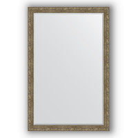 Зеркало Evoform Exclusive BY 3619 с фацетом виньетка античная латунь 115 см