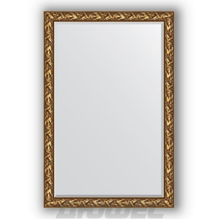 Зеркало Evoform Exclusive BY 3623 с фацетом византия золото 119 см
