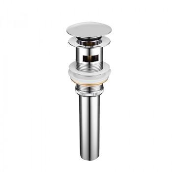 Донный клапан Gid CH100-1 Хром с переливом