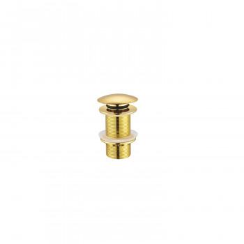 Донный клапан без перелива Creavit SF030G золото