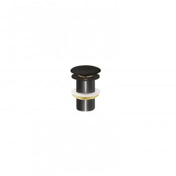 Донный клапан без перелива Creavit SF032-S черный
