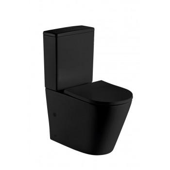 Унитаз напольный безободковый Gid Tr2179BL (61х36)