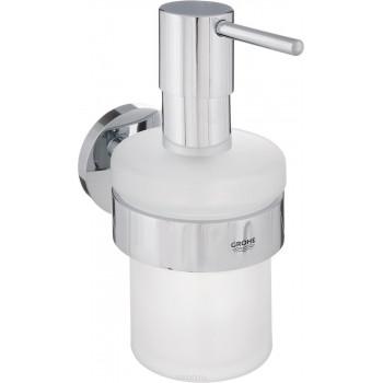 Дозатор для жидкого мыла Grohe Essentials 40448001 с держателем