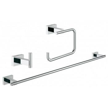 Набор аксессуаров для ванной комнаты Grohe Essentials Cube 40777001
