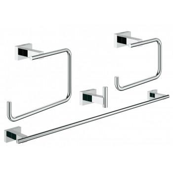 Набор аксессуаров для ванной комнаты Grohe Essentials Cube 40778001