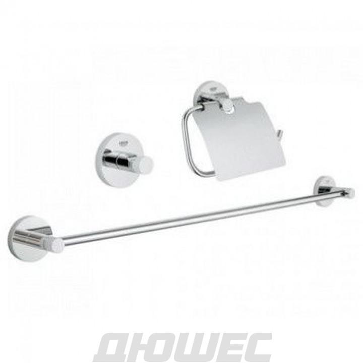 Набор аксессуаров для ванной комнаты Grohe Essentials 40775001