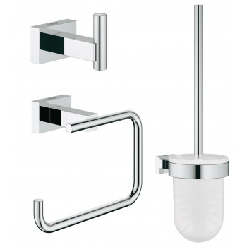 Набор аксессуаров для ванной комнаты Grohe Essentials Cube 40757001