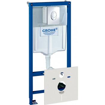 Инсталляция для подвесного унитаза Grohe Rapid SL 38750001 комплект 4 в 1