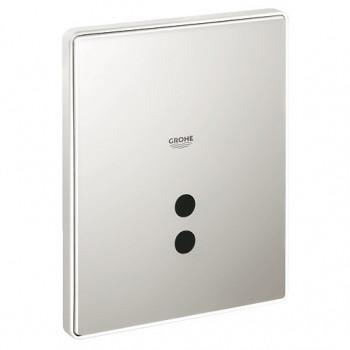 Кнопка смыва для писсуара Grohe Tectron Skate 37321SD0 нержавеющая сталь