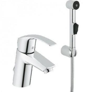 Смеситель для раковины Grohe Eurosmart 23124002 с гигиеническим душем