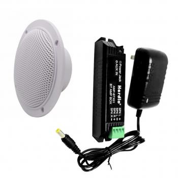 Встраиваемая аудиосистема HERDIO с 2 влагостойкими динамиками