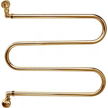 Полотенцесушитель водяной Margaroli Vento 400GO золото