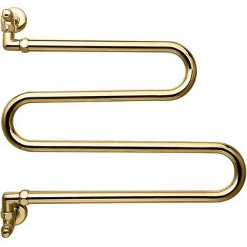 Полотенцесушитель водяной Margaroli Vento 406 золото