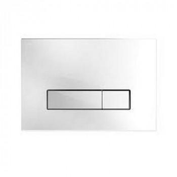 Клавиша смыва Mepa Orbit 421844 белое стекло
