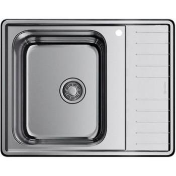 Мойка кухонная Omoikiri Sagami 63-IN-L 4993448 металлическая