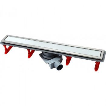 Душевой лоток Pestan Confluo Premium Line 750 белое стекло/сталь