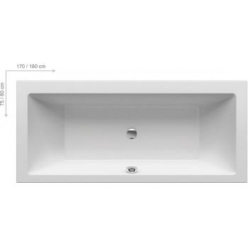 Акриловая прямоугольная ванна Ravak Formy 01 170x75