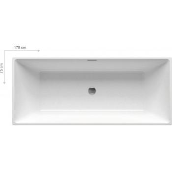 Акриловая отдельностоящая ванна Ravak Freedom R 175x75