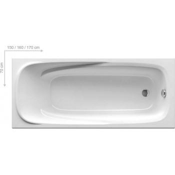 Акриловая ванна Ravak Vanda II 160