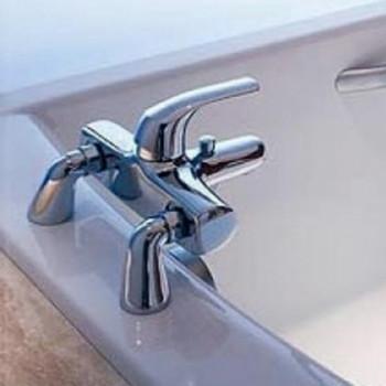 Изготовление на борту ванны Recor двух дополнительных отверстий под смеситель