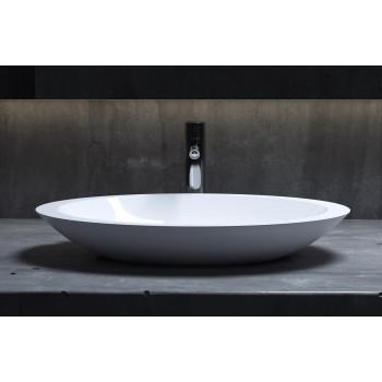 Накладная раковина из литого камня Salini CALLISTA 102 (Глянцевая) 1101102G (57.5х35)