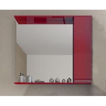 Зеркало СанВит со шкафчиком 75 см